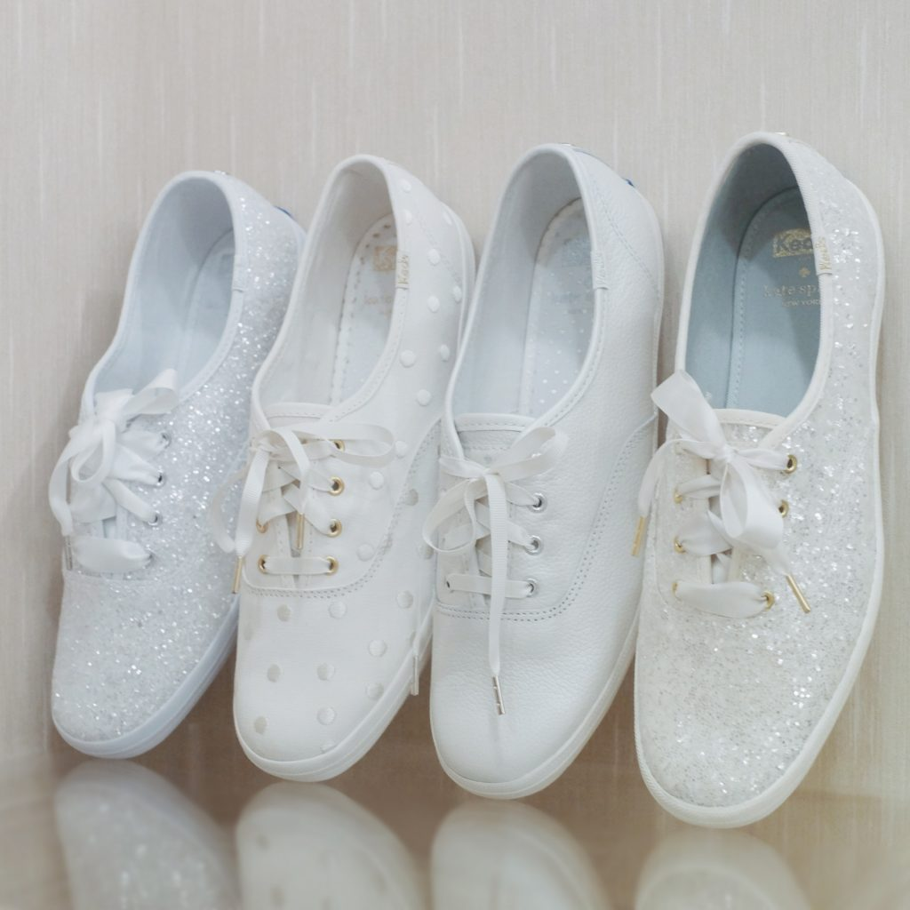 adbddef4affb Say  I do  to Keds x Kate Spade New York 2018 bridal collection ...